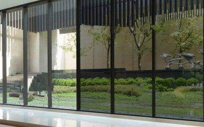 Energy efficient office window tinting